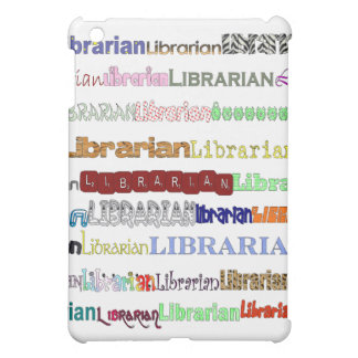 Librarians Come in All Shapes & Sizes iPad Mini Cover
