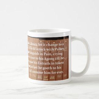 Librarians Curse Coffee Mug