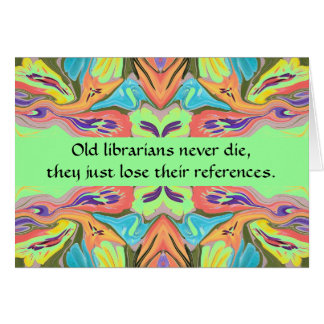 librarians humor card