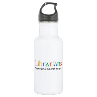 Librarians The Original Search Engine 532 Ml Water Bottle