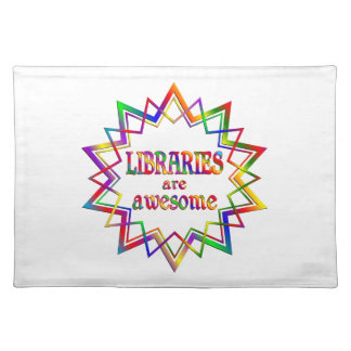 Libraries are Awesome Placemat