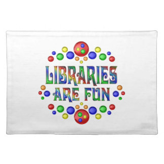 Libraries are Fun Placemat