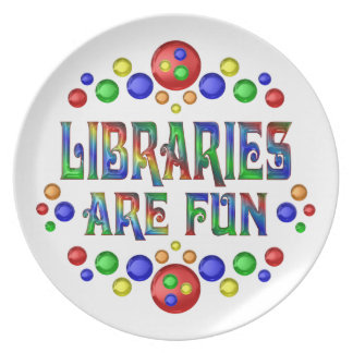 Libraries are Fun Plate