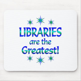 Libraries are the Greatest Mouse Pad