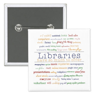 Libraries - change color 2 inch square button