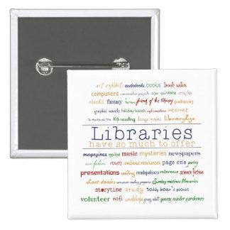 Libraries - change color 2 inch square button