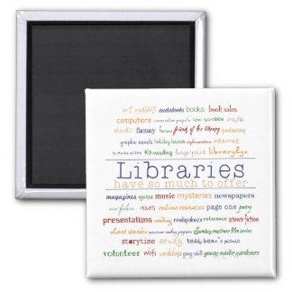 Libraries - change color square magnet