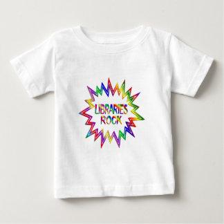 Libraries Rock Baby T-Shirt
