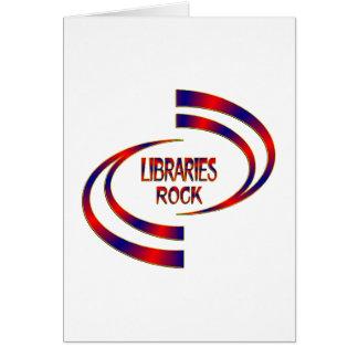 Libraries Rock Card