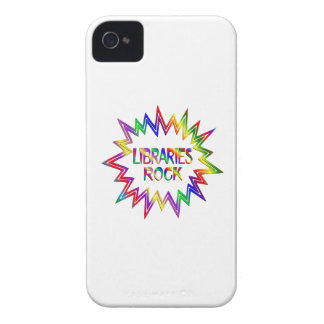 Libraries Rock iPhone 4 Case-Mate Case