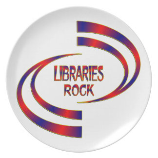 Libraries Rock Plate