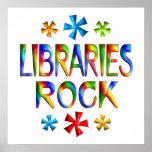 LIBRARIES ROCK PRINT
