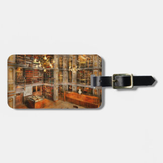 Library - A literary classic 1905 Luggage Tag
