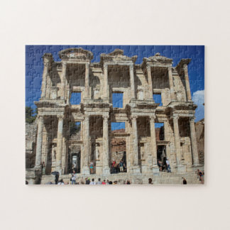 Library at Ephesus Jigsaw Puzzle