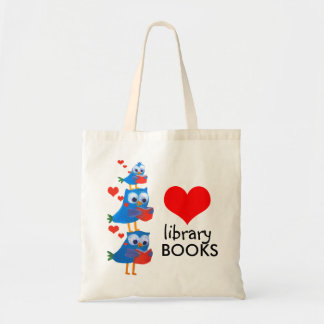 library books bag