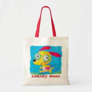 library books bag