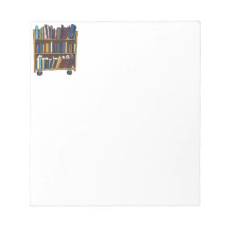 Library Books Notepad
