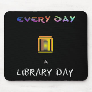 Library Day Mouse Pad