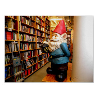 Library Gnome Posters
