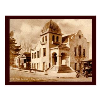 Library, Hayward, California 1911 Vintage Postcard