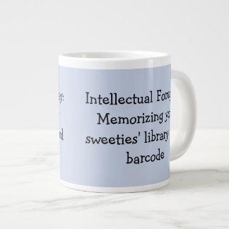 Library Humour Large Coffee Mug