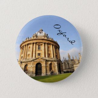 Library in Oxford, England 2 Inch Round Button