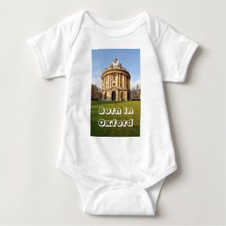 Library in Oxford, England Baby Bodysuit