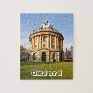 Library in Oxford, England Jigsaw Puzzle