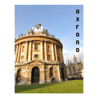 Library in Oxford, England Letterhead