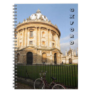 Library in Oxford, England Notebook