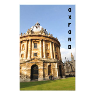 Library in Oxford, England Stationery