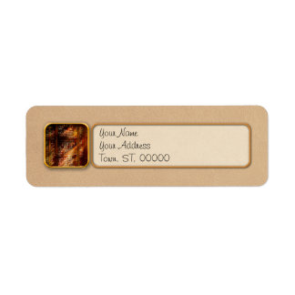 Library - It starts with a single page 1920 Return Address Label