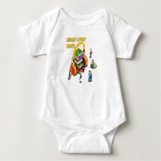 Library Lovers' Month - Appreciation Day Baby Bodysuit