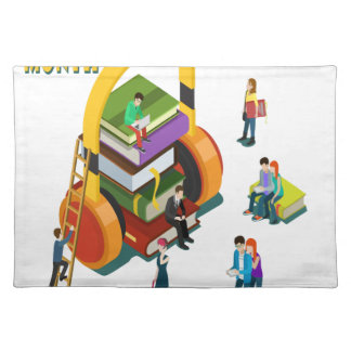 Library Lovers' Month - Appreciation Day Placemat