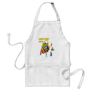 Library Lovers' Month - Appreciation Day Standard Apron