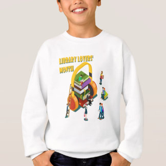 Library Lovers' Month - Appreciation Day Sweatshirt