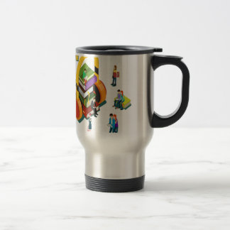 Library Lovers' Month - Appreciation Day Travel Mug