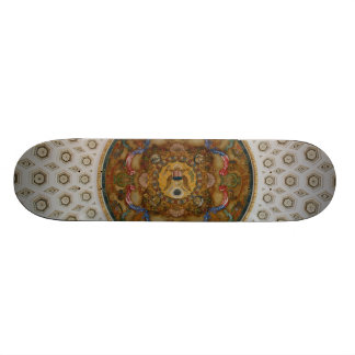 Library of Congress Ceiling Custom Skateboard