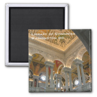 Library of Congress Magnet