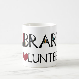 Library Volunteer Coffee Mug