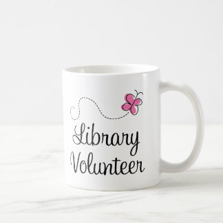 Library Volunteer Coffee Mug