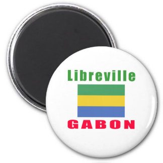 Libreville Gabon capital designs Magnet