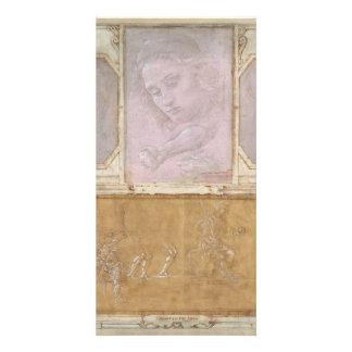 Libro de Disegni by Botticelli, Lippi, Vasari Customized Photo Card