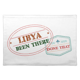 Libya Been There Done That Placemat
