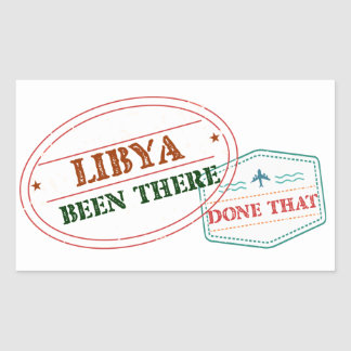 Libya Been There Done That Sticker