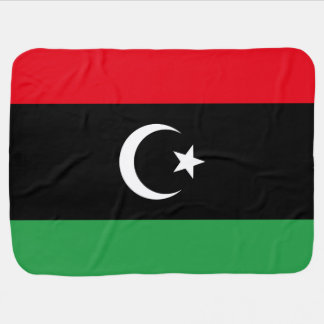 Libya Flag Baby Blanket