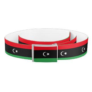 Libya Flag Belt
