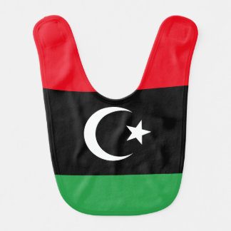 Libya Flag Bib