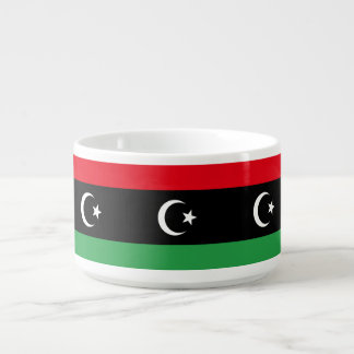 Libya Flag Bowl