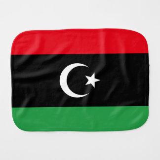 Libya Flag Burp Cloth